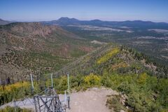 Elden Lookout Tower Royalty Free Stock Photo