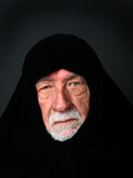 Elder Arab Sheik with a somber expression Royalty Free Stock Images