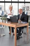 Elder business partners Royalty Free Stock Photography