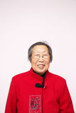 Elder Chinese woman Royalty Free Stock Images