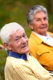 Elder couple Stock Photos