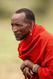 Elder di Maasai Immagini Stock