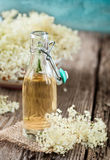 Elder flower syrup Royalty Free Stock Photography