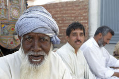 Elder man in Pakistan Royalty Free Stock Photography