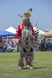 Elder Native American Dancer Stock Photos