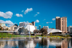 Elder Park, Adelaide City Royalty Free Stock Photo