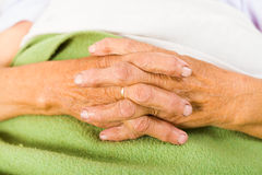 Elder People's Daily Prayers Stock Photography