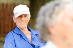 Elder senior man Stock Photos