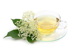 Elder tea Stock Photos