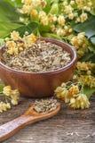Elder tea. Domestic healthy elder tea on a rustic wooden table Royalty Free Stock Photography