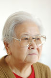 Elder woman Royalty Free Stock Photography