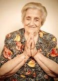 Elder woman Stock Images