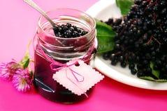 Elderberry domowej roboty confiture Zdjęcie Stock