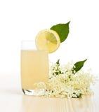 Elderberry flower flavored summer refreshment Stock Images