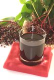 Elderberry juice Royalty Free Stock Photos