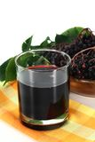 Elderberry juice Stock Photography