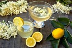 Elderberry juice Stock Image