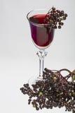 Elderberry liqueur Royalty Free Stock Photos