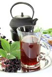 Elderberry tea Stock Images