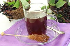 Elderberry tea Stock Images