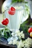 Elderflower drink Stock Images