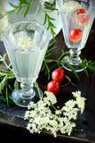 Elderflower drink Royalty Free Stock Images