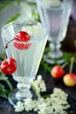 Elderflower drink Royalty Free Stock Photo