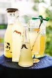 Elderflower drinks Royalty Free Stock Images