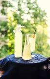 Elderflower drinks Royalty Free Stock Photography