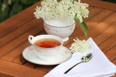 Elderflower herbata Zdjęcie Stock
