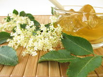 Elderflower jam Royalty Free Stock Photography