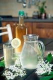Elderflower juice Royalty Free Stock Photo