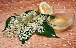 Elderflower lemonade Stock Images