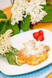 Elderflower Pancakes Stock Photography