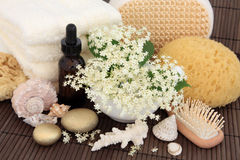 Elderflower Spa Treatment Stock Photography