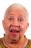 Elderly African American woman Stock Images
