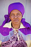 Elderly african woman Royalty Free Stock Photography