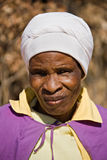 Elderly african woman royalty free stock images