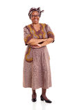 Elderly african woman Royalty Free Stock Photo