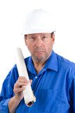 Elderly Architect Stock Image