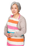 Elderly asian housewife Stock Image