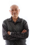 Elderly asian man Royalty Free Stock Image
