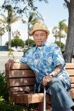 Elderly asian man Stock Images