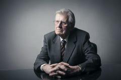 An elderly businessman Stock Photo