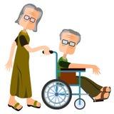 Elderly care Stock Photos