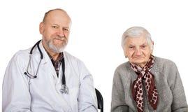 Elderly care Royalty Free Stock Image