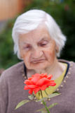 Elderly care Royalty Free Stock Photos