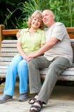 Elderly couple Royalty Free Stock Image
