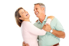 Elderly couple stock photography