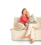 Elderly couple Stock Photos